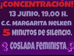 concentración mujer 13 de junio